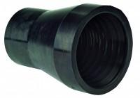 Gummimundstykke (100 mm)