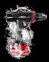 Nemo: vandtæt batteri-værktøj 50m