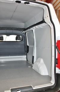 Sider / gulv / loft til varebiler