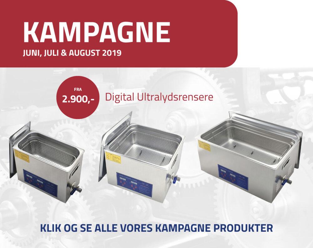 Jens Linde Kampagne Rensemaskiner - Juni-Juli-August 2019