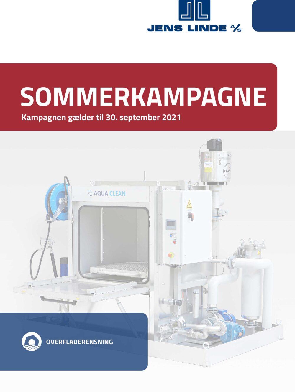 Sommerkampagne 2021 - Jens Linde - Forside