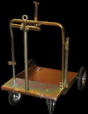 Trolley til 180-220 kg tromler