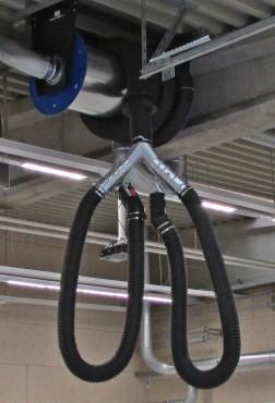 Y-stykke for biler med dobbelt udstødning