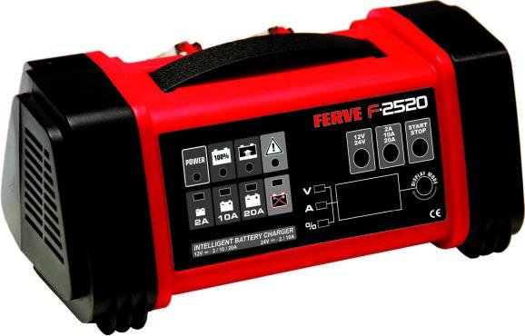 Ferve 2520 fuldautomatisk lader og tester